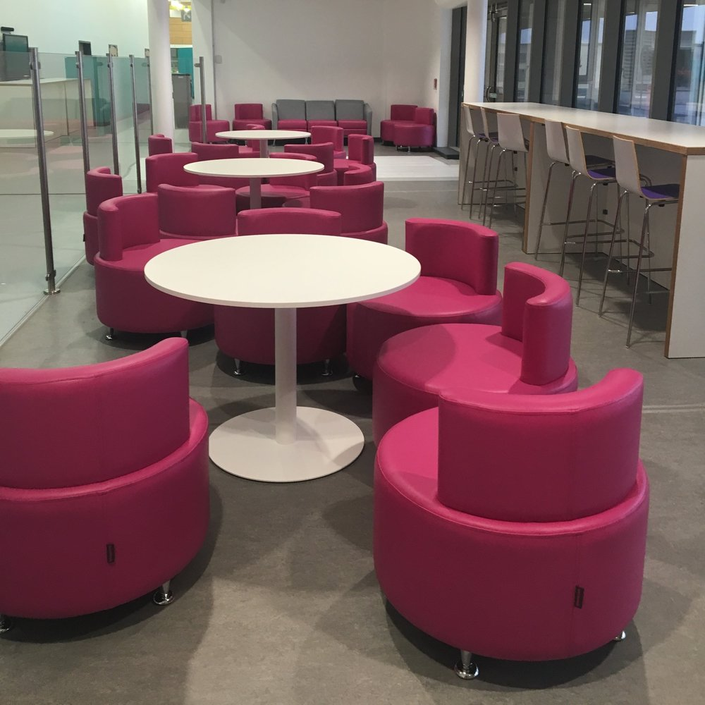 Interior & FF&E development - Colour, signage & graphic strategies, along with development of performance specifications for Fittings & Furnishings, are a key area where users to can continue to participate linking outcomes back to strategic aims.