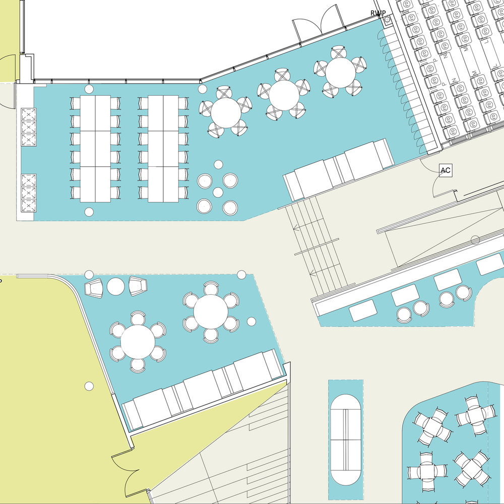 Design support - Testing the evolving design against strategic principles (through space planning overlays) helps service delivery demand continue to inform design & inform the evolving FF&E requirements.