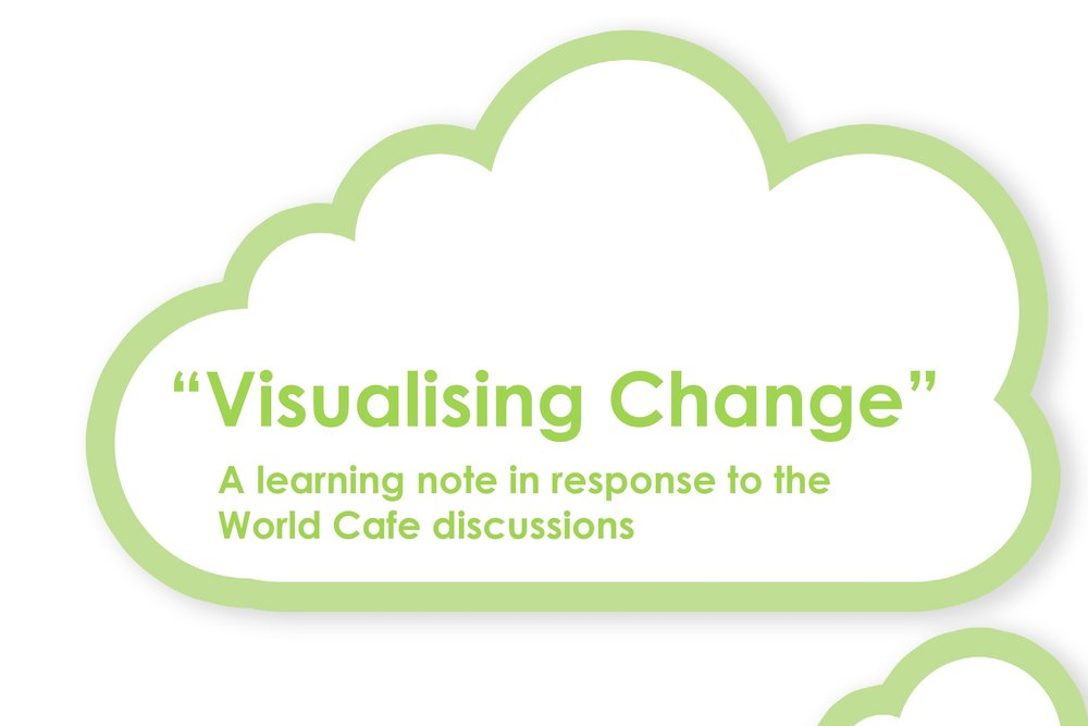 "Visualising change : SPACE strategies learning note - Architecture and Design Scotland commissioned education and design experts to create a short learning note for their web series ; ""Better briefing for education benefit"" to support and expand on the learning points captured from the world café session at the Scottish Government Schools Estate conference, November 2013."