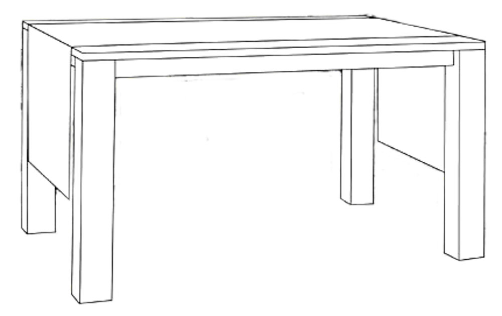 Tischband   150 x 40 cm  oder Sondermaße  mit Briefecken