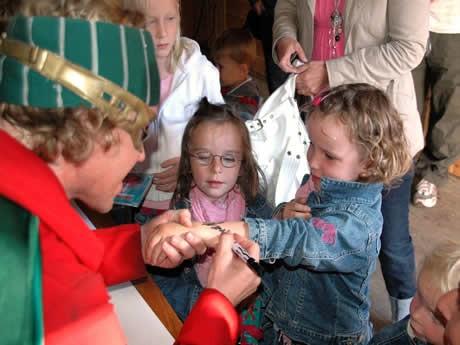 Samhandling med barna