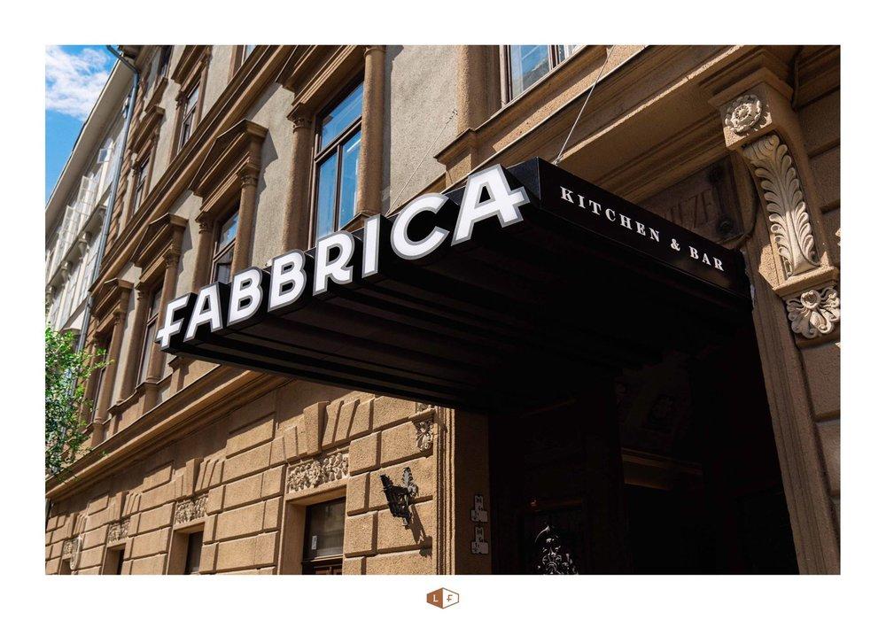 Img:  La Fabbrica Facebook page