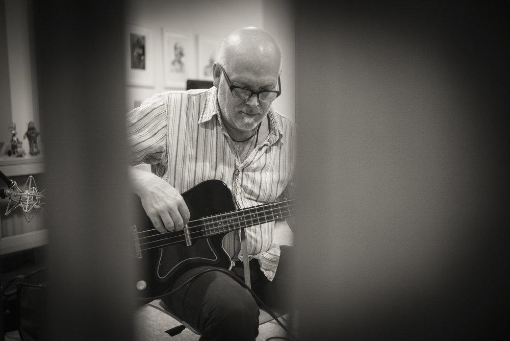 DON DIXON - Bass. Legendary producer — R.E.M., Smithereens, James McMurtry, Hootie & the Blowfish, Marti Jones — songwriter, bass @ Mary Chapin Carpenter.