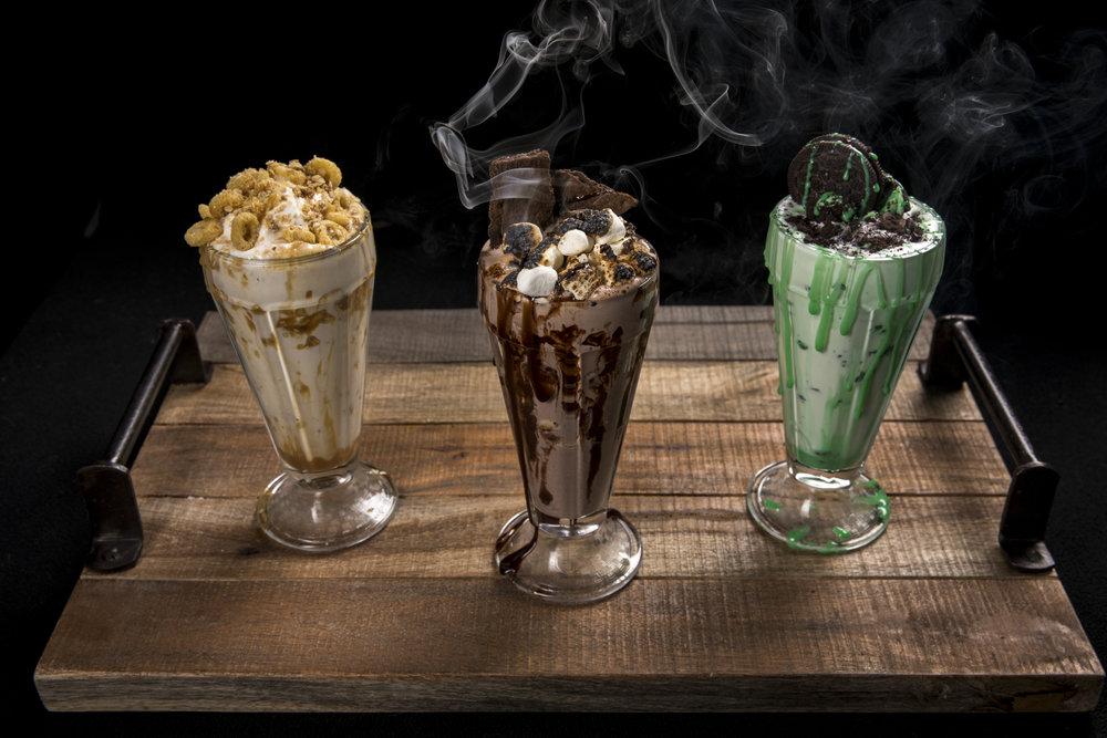 milkshakes -