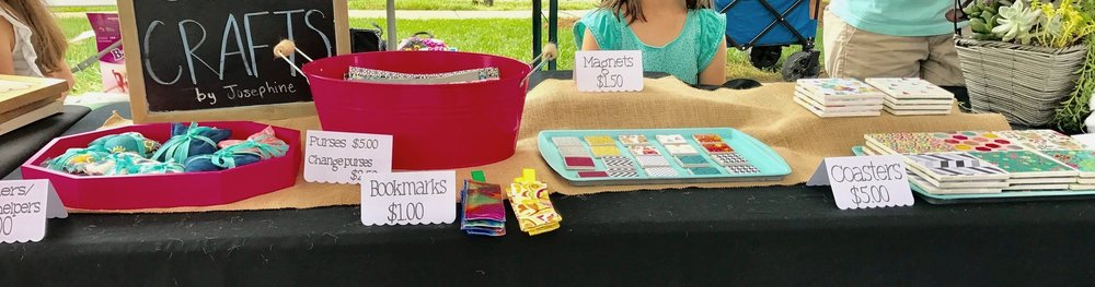 The Sherborn Arts and Crafts fair welcomes young entrepreneurs and students participating in the Pine Hill 5th Grade community service project to create and sell their wares to benefit a non-profit organization of their choice.  Student community service booth space is  free of charge . Complete the form below to participate.