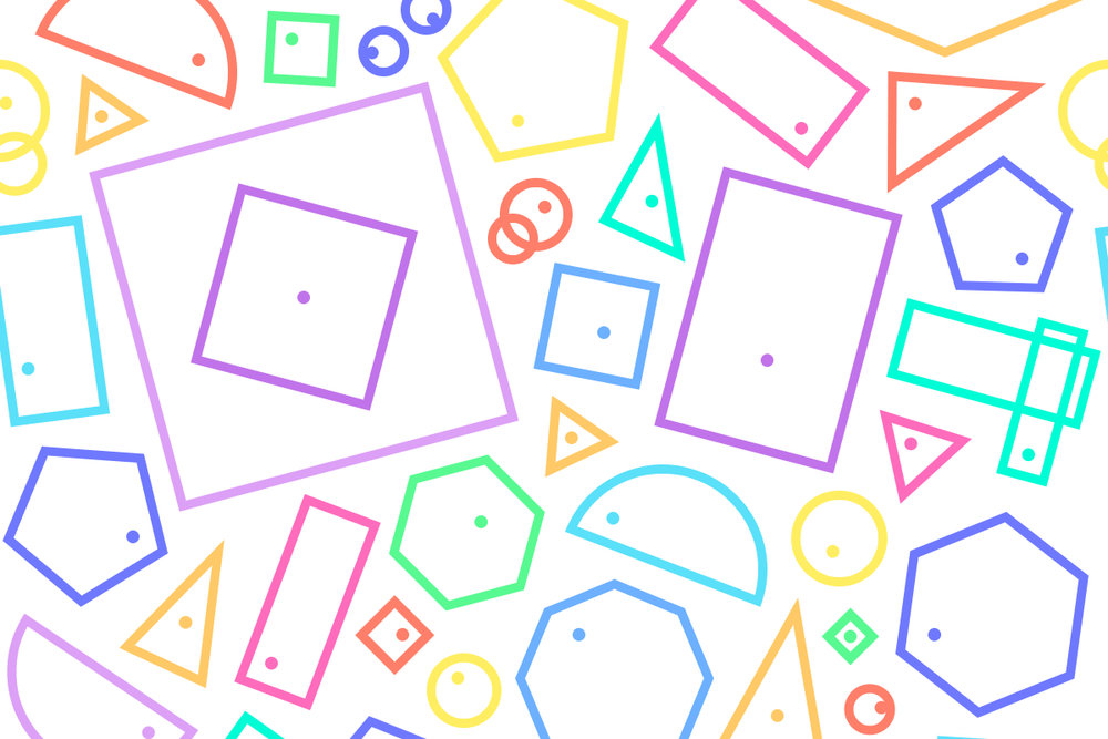 Designer's Eye - A fun little game to test your designer's eye and judge whether the dots are really in the middle of the shapes. There's 10 shapes for you to select from, but you have to get all 10 correct to win the game. Can you do it?