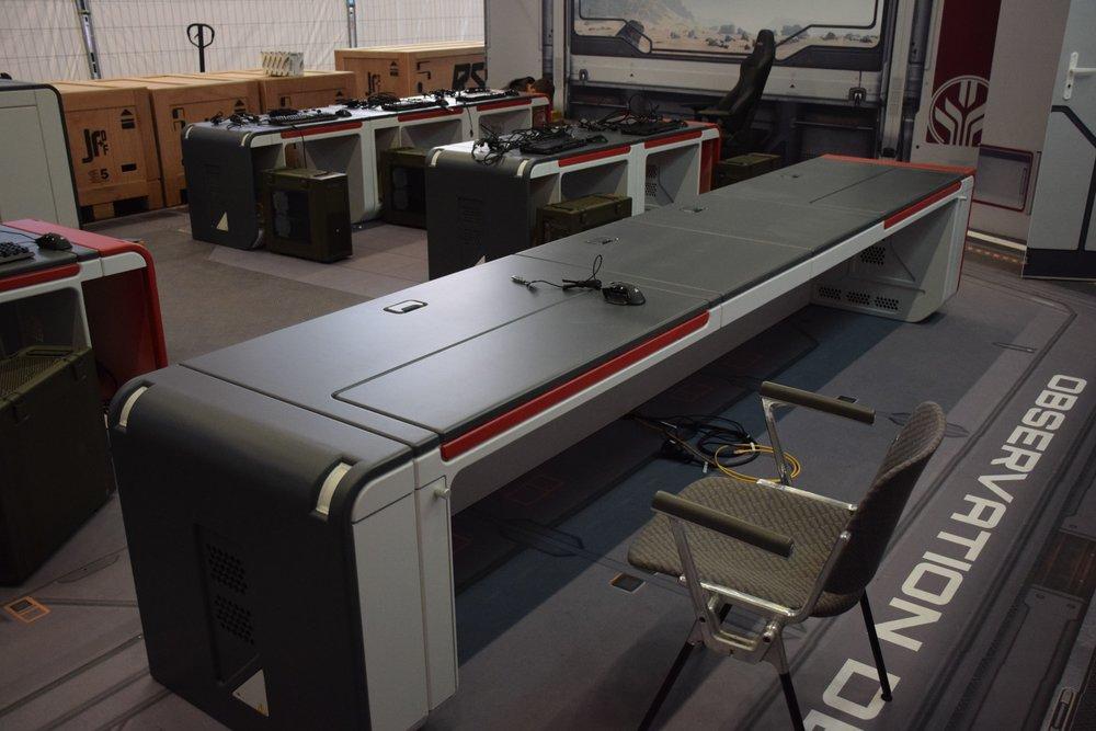 Finished Streamers Desk