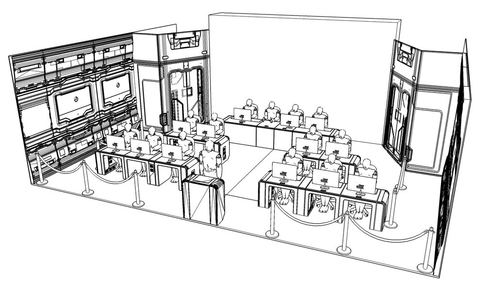 Final layout concept