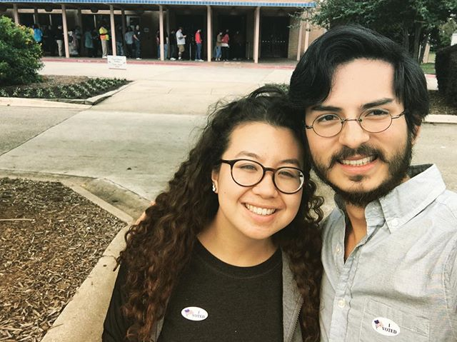 Grab your friend and GO VOTE! What you think matters, but what you do matters more. Get out there and share your voice!