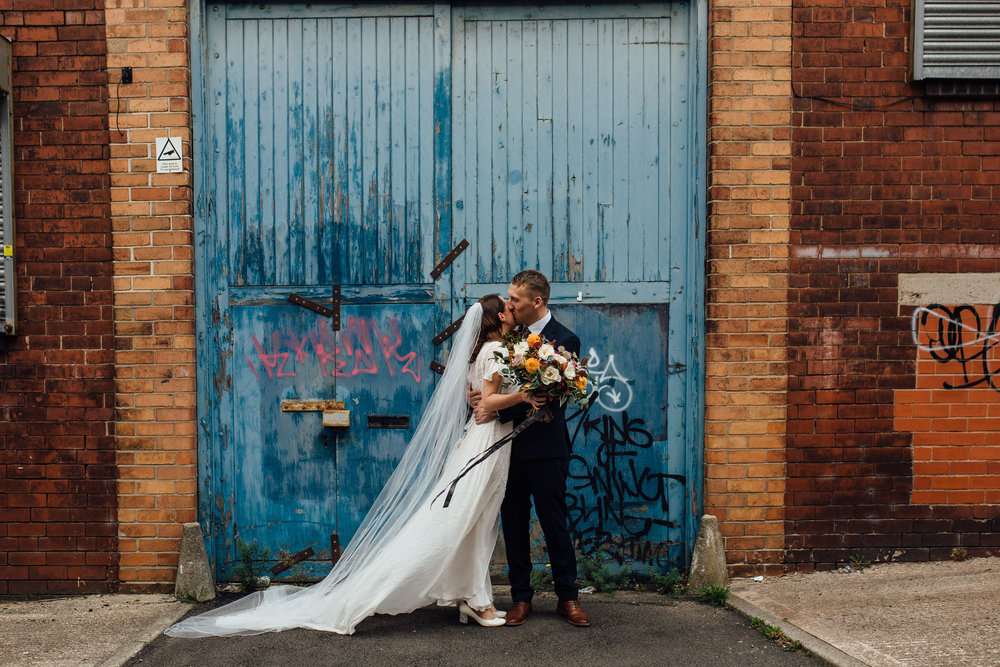 Sheffield Yorkshire Documentary Wedding Photographer The Chimney House