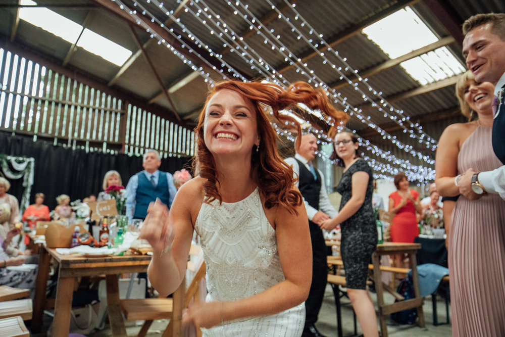 Sheffield Yorkshire Documentary Wedding Photographer Whirlow Hall Farm