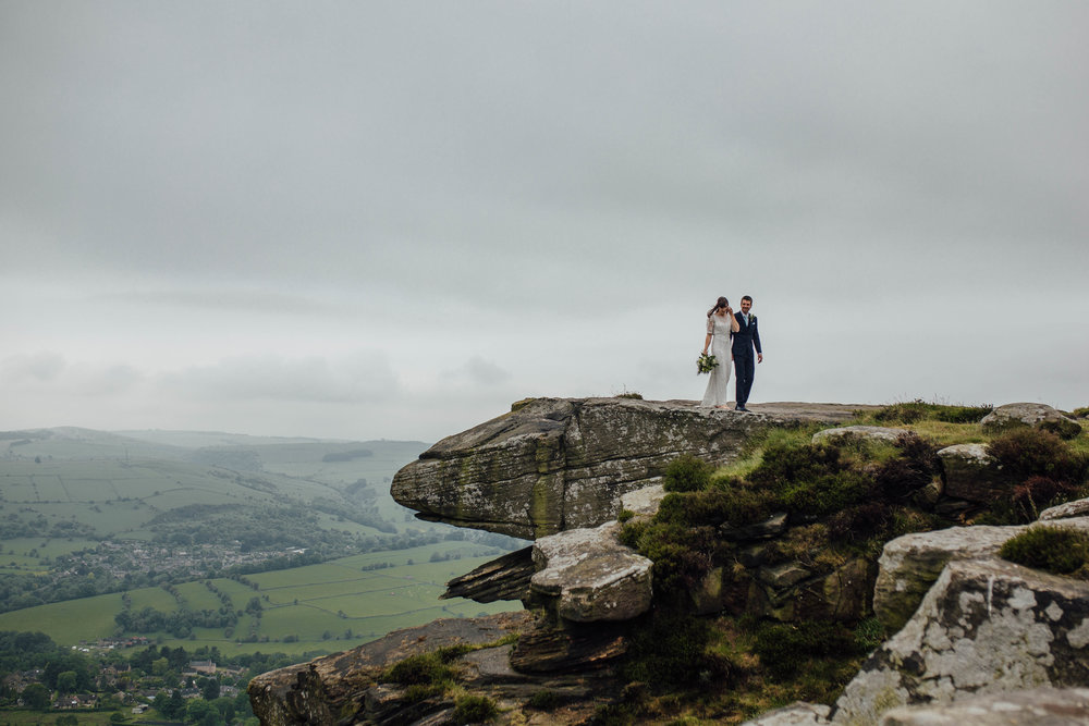 Sheffield Yorkshire Documentary Wedding Photographer Peak District