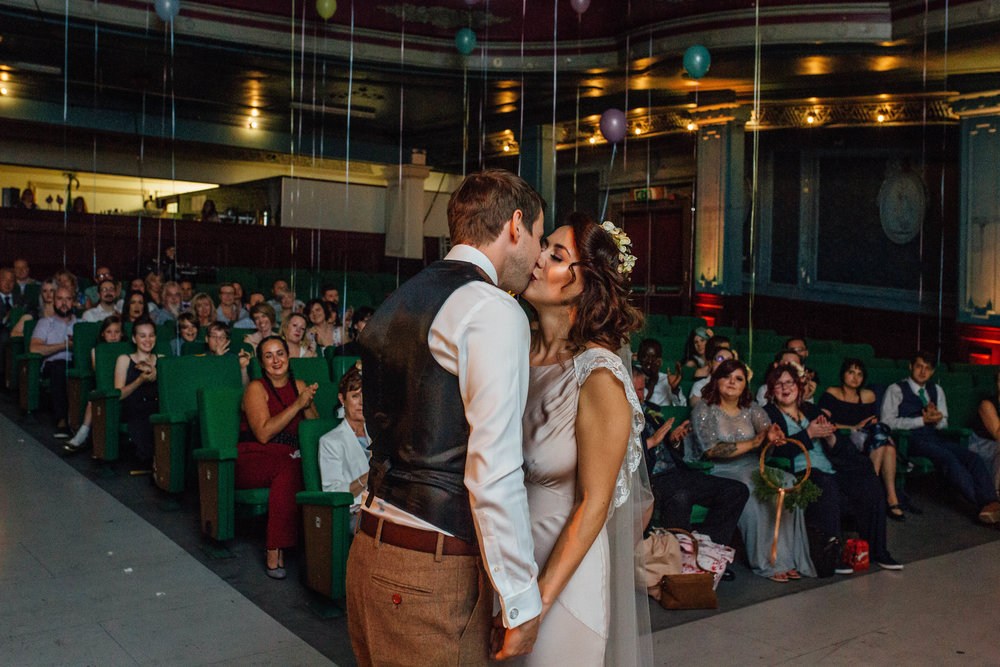 Wes Anderson Inspired Wedding Sheffield Abbeydale Picture House