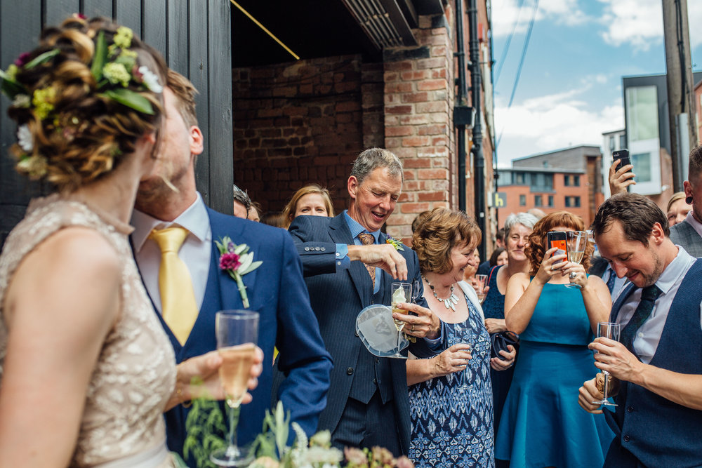 99 Mary Street Urban Wedding Sheffield