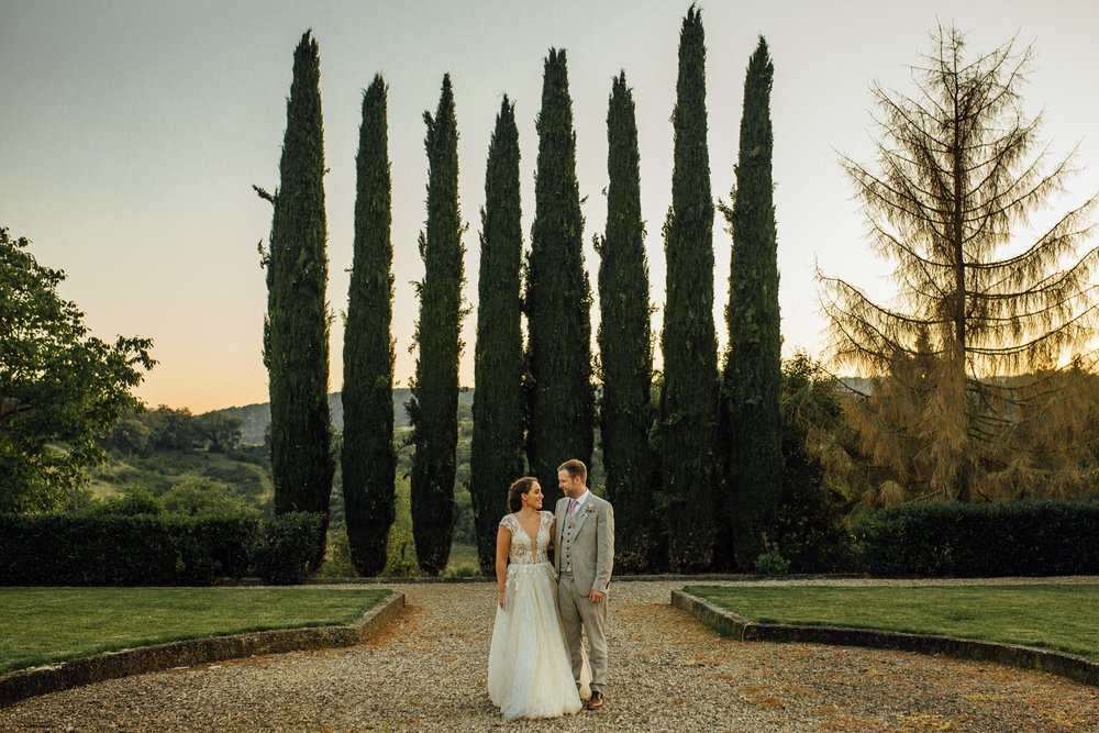 Villa La Selva Destination Wedding Siena Italy