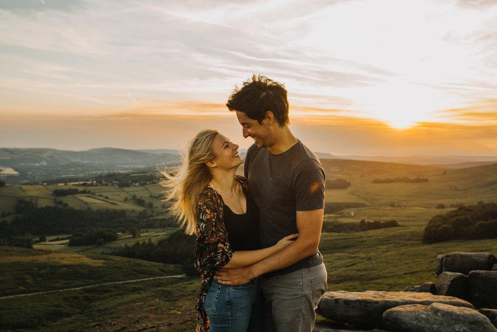 Peak District Couple Shoot Wedding Photographer