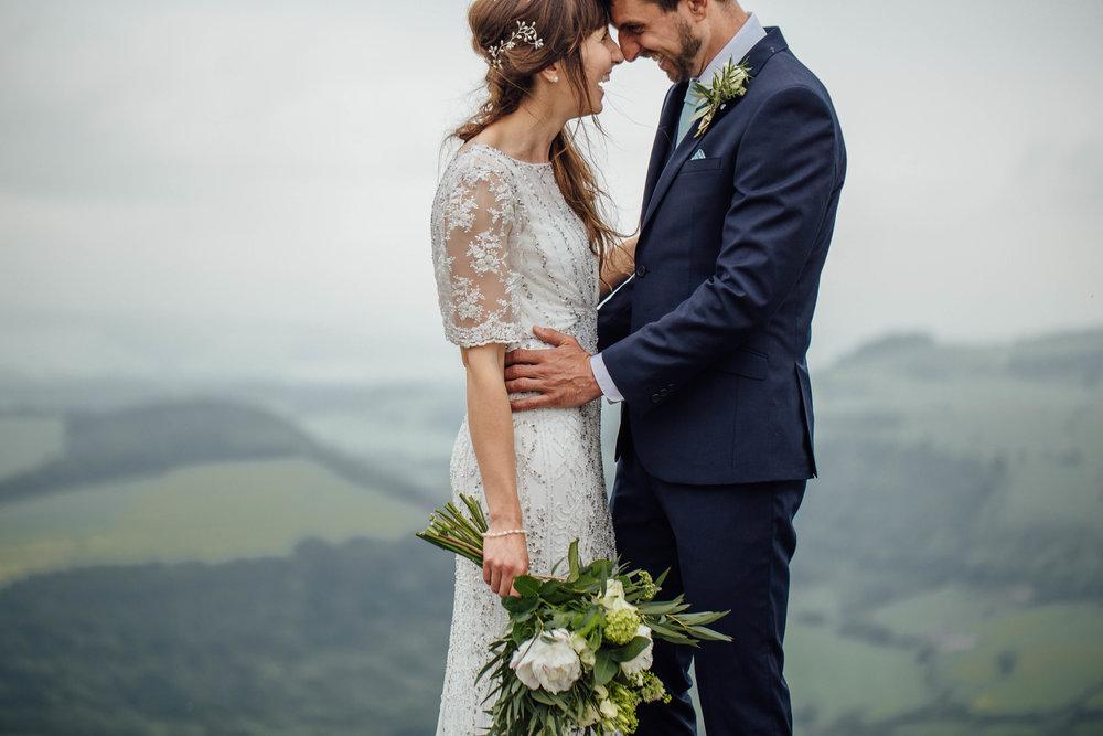 Curbar Edge Wedding Photographer Mount Cook Adventure Centre