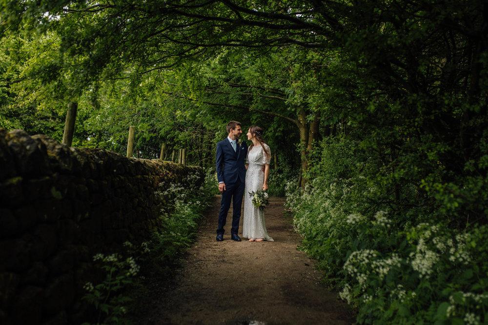 Curbar Edge Peak District Wedding Photographer