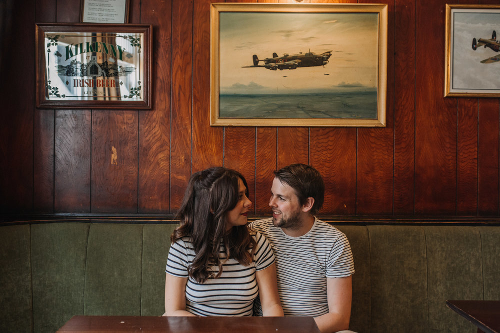 Wes Anderson Themed Engagement Shoot Sheffield