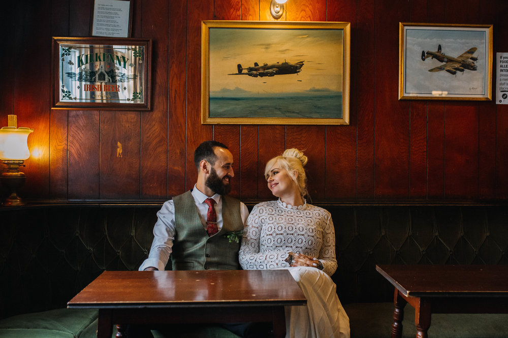 Sheffield Wedding Photographer The Hide Fagan's Pub