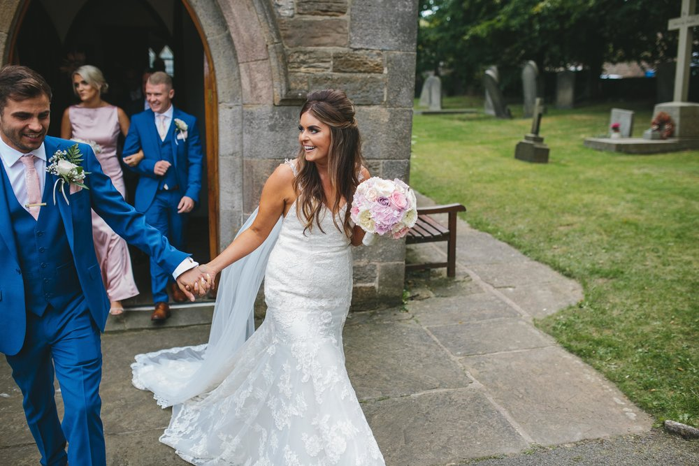 Dore Church Wedding Woodthorpe Hall