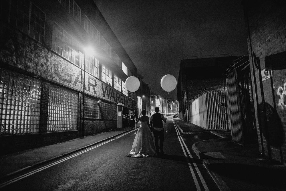 Urban Sheffield Trafalgar Warehouse Inner City Wedding