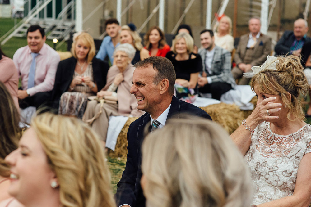 Sheffield Marquee Festival Wedding with Dogs