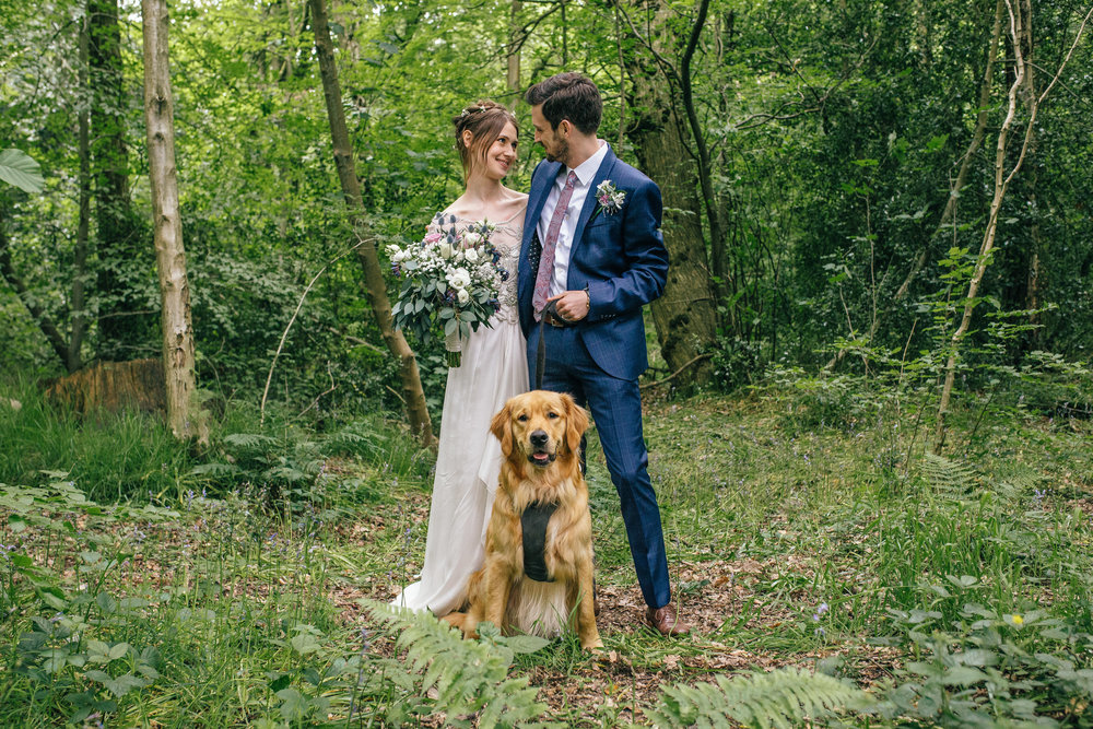 Sheffield Wedding Photographer Dogs at Weddings Discovery Centre