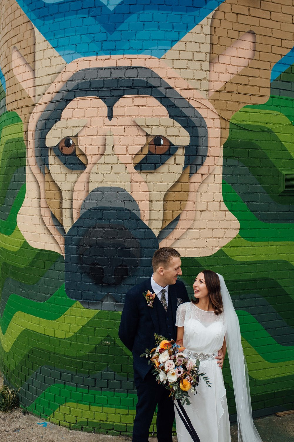 Sheffield Wedding Photographer Dogs at Weddings The Chimney House