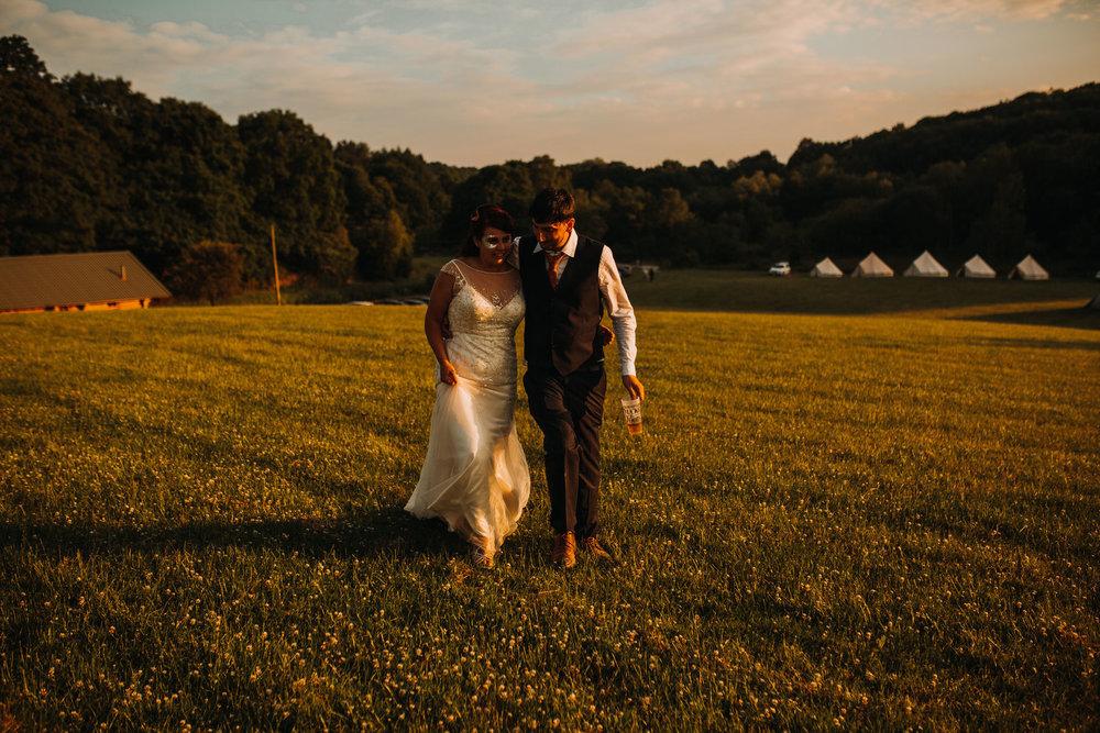 Festival Wedding Whitebottom Farm Marple Bridge