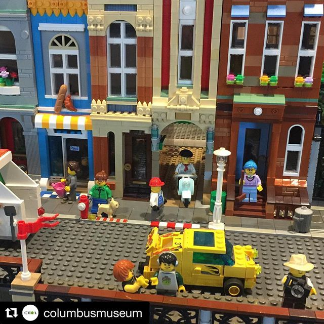 Head to @columbusmuseum this last full weekend to see the annual Think Outside the Brick #lego exhibition. #discoverydistrictcbus #experiencecolumbus #lifeincbus #asseenincolumbus #cbus #expcols