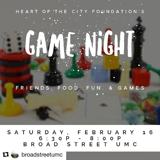 Looking for a family friendly event tonight? Stop by @broadstreetumc for game night! Sandwiches and drinks provided. Bring a dish or game to share. #discoverydistrictcbus #gamenight