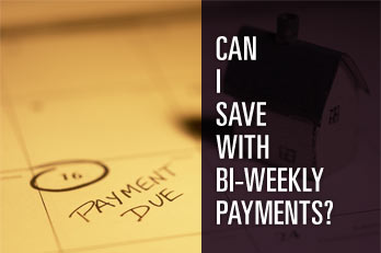 Can I Save with Bi-Weekly Payments? - This calculator shows you possible savings by using an accelerated bi-weekly mortgage payment. Bi-weekly payments accelerate your mortgage payoff by paying 1/2 of your normal monthly payment every two weeks. By the end of each year, you will have paid the equivalent of 13 monthly payments instead of 12. This simple technique can shave years off your mortgage and save you thousands of dollars in interest.