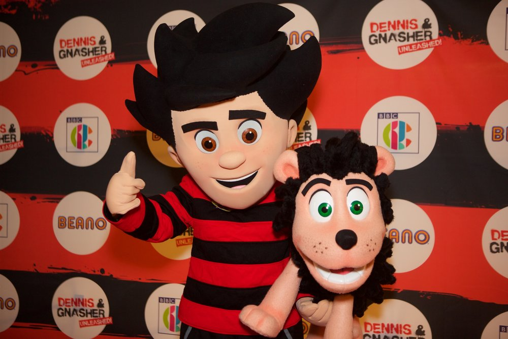 Dennis and Gnasher Unleashed Launch