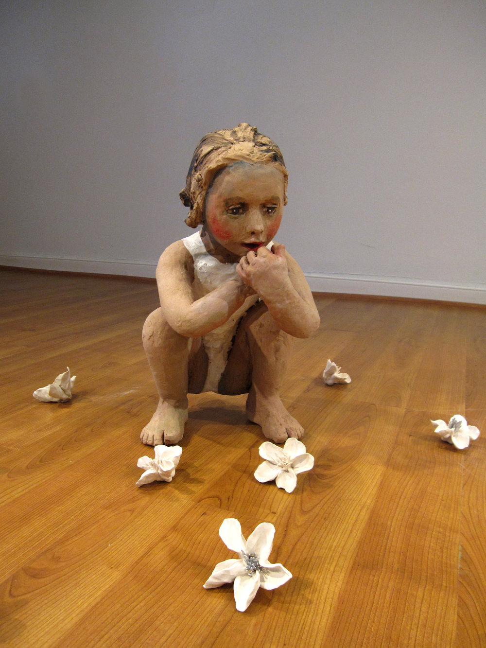 Flower Eaters, 2009, Ceramic