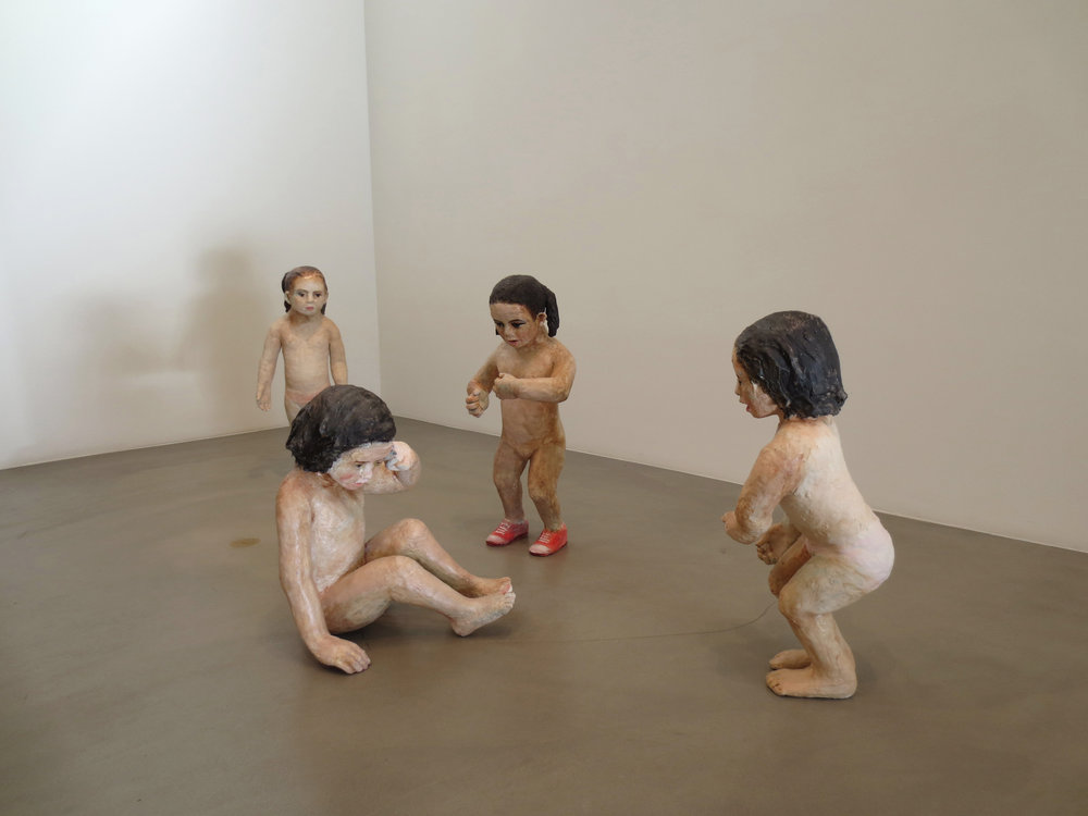 Pendencia, 2012, Glazed ceramic, Installation view, Scott White Contemporary Art, California