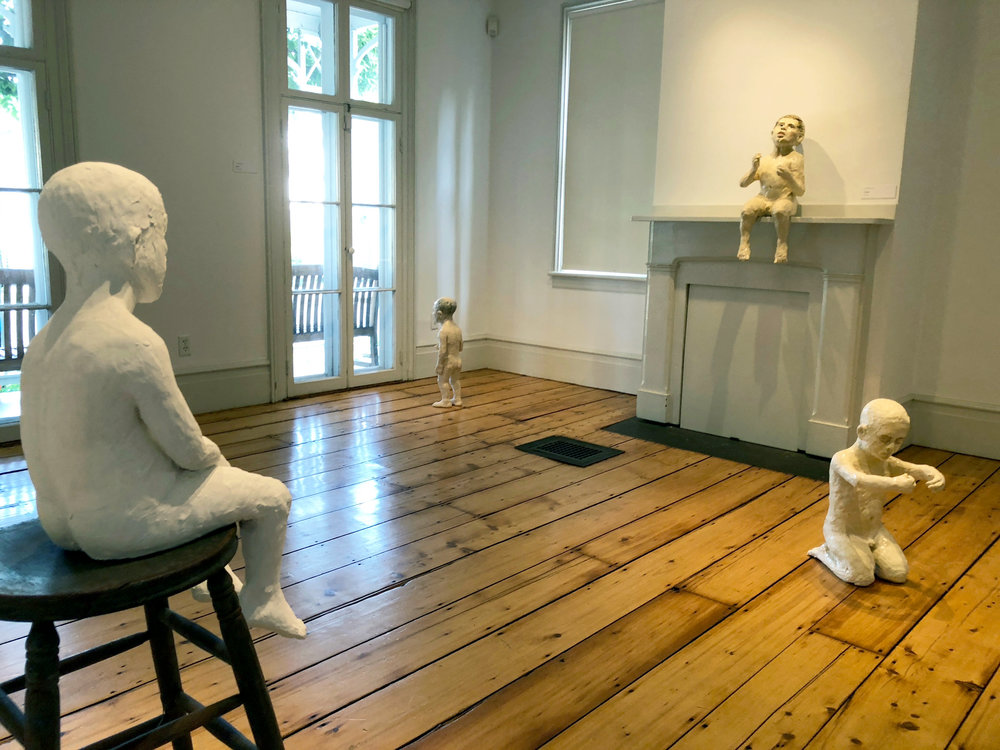 Installation view, Boy in a Room, Edward Hopper Museum and Study Center, Nyack, New York