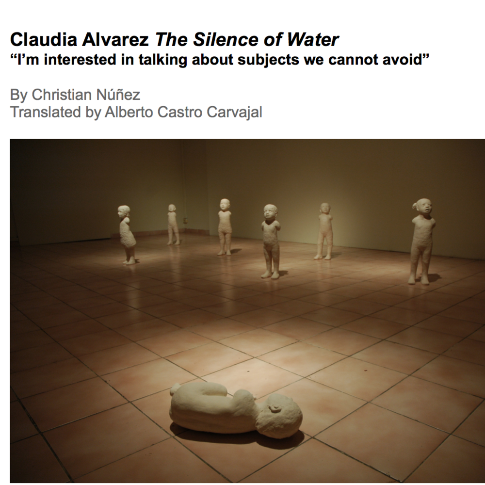The Silence of Water by Christian Núñez