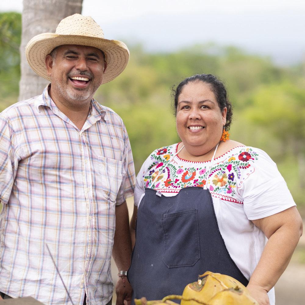 Segis & Yadira   Fresh homemade tortillas, cheese, and traditional Mexican food