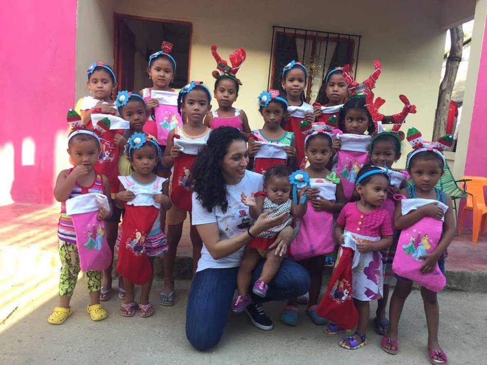 Mentee Arleen giving back in Colombia