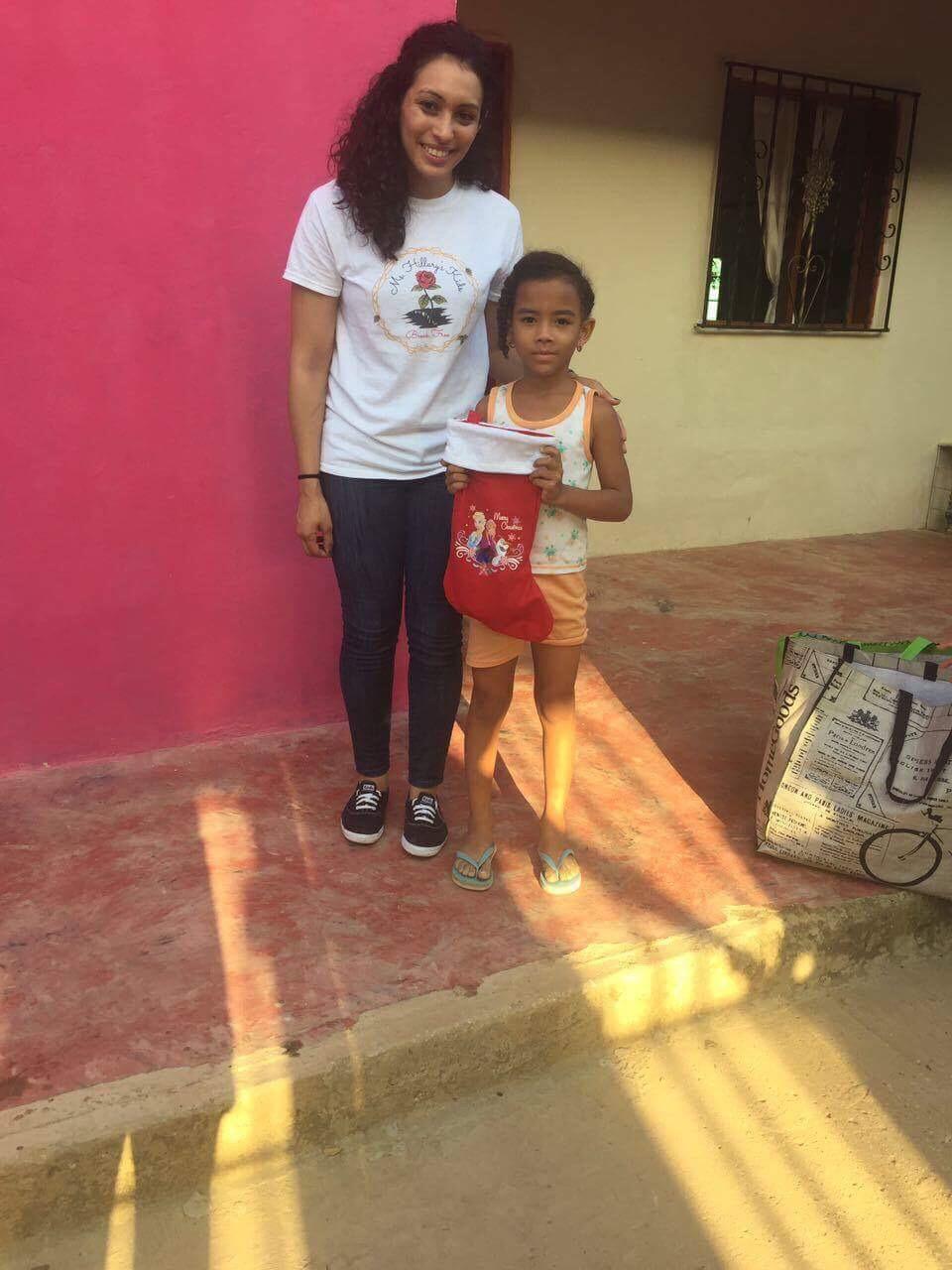 Mentee Arleen giving back in Colombia 4