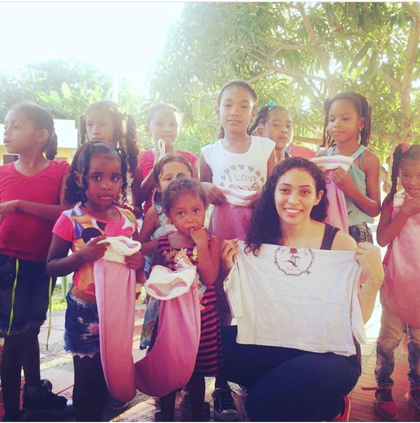 Mentee Arleen giving back in Colombia 6