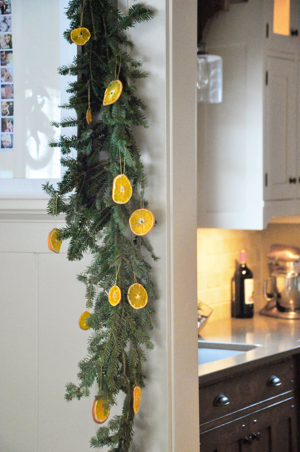 DIY Live Evergreen Garland