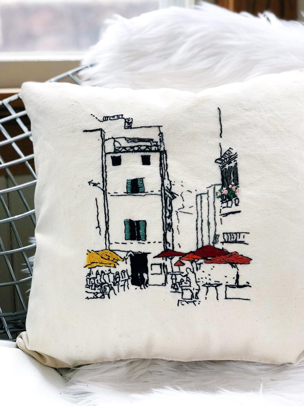 hand embroidered art throw pillow.jpg