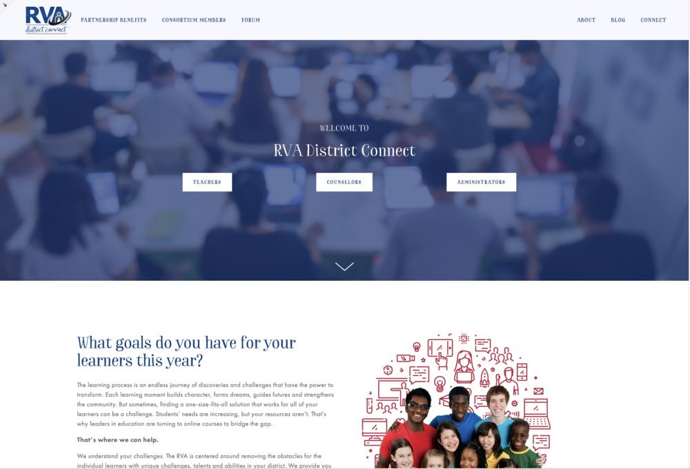 District Connect Website