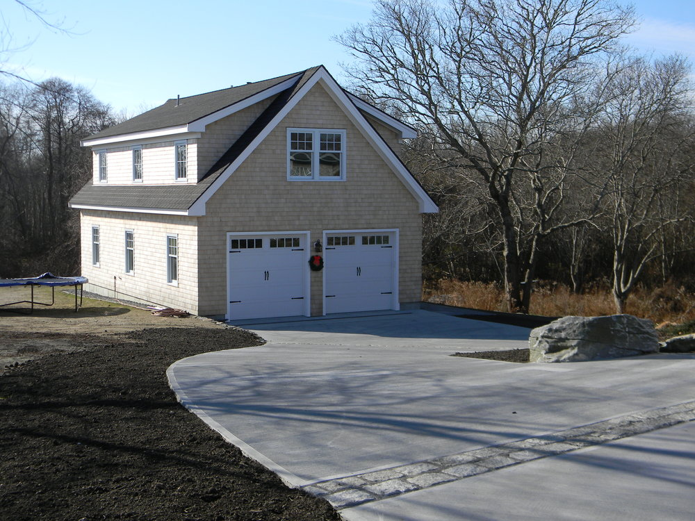 Custom Garage w/ Office Space Above - Little Compton, RI