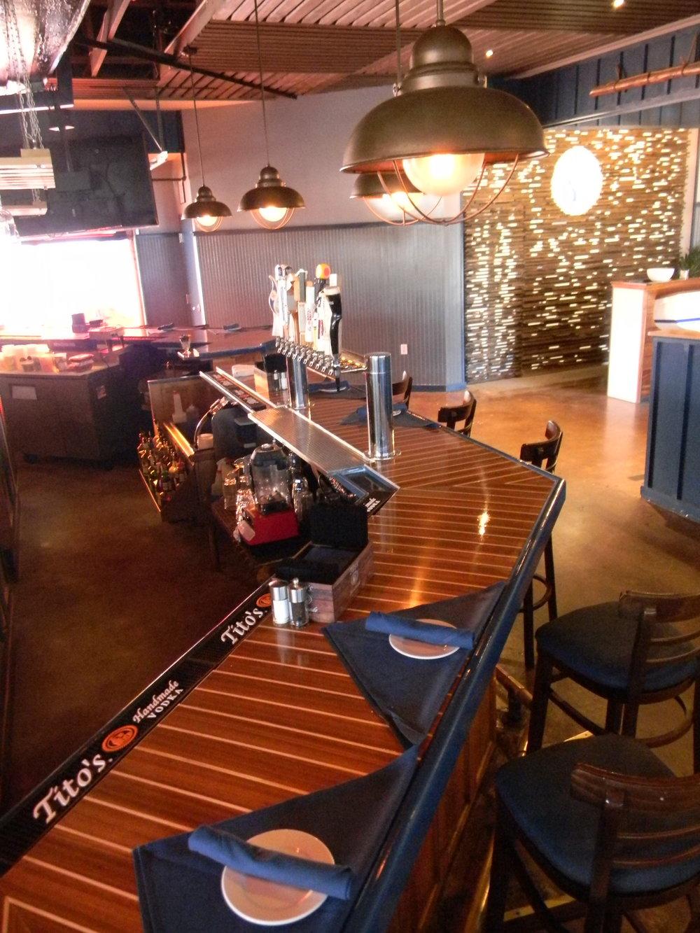 Restaurant Interior: Complete Renovation.  The Boat House - Newport, RI