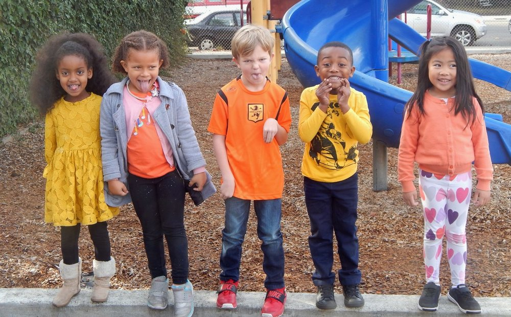 Class Colors Day for the Tk and Kindergarten Class!