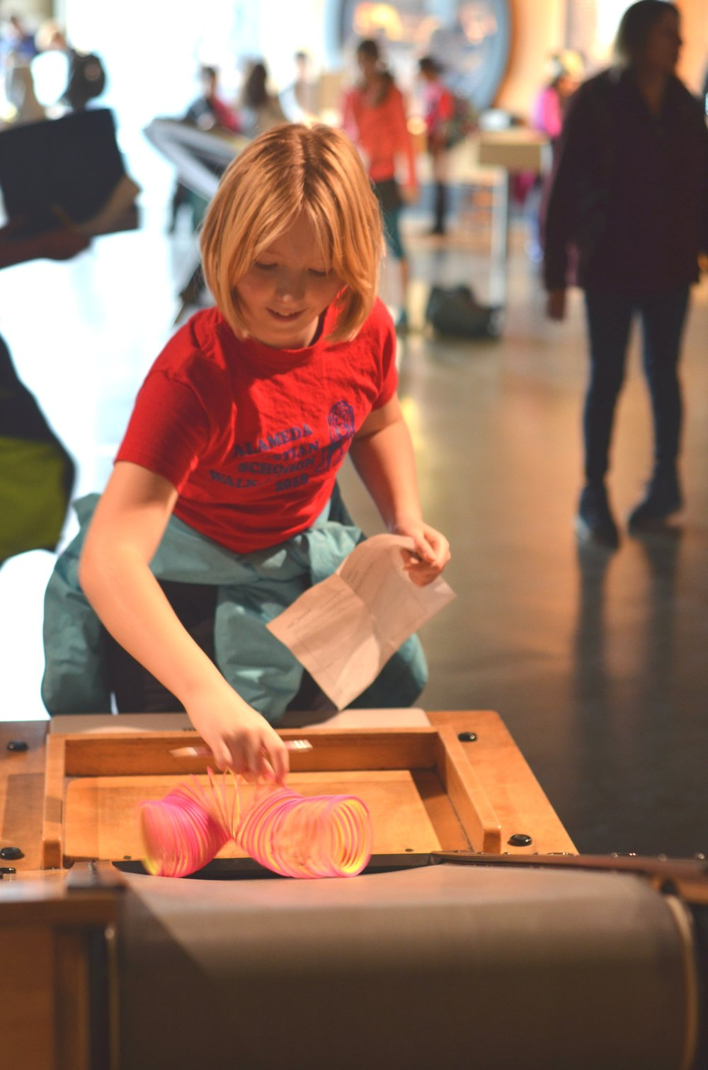 At the Exploratorium, January 2019.