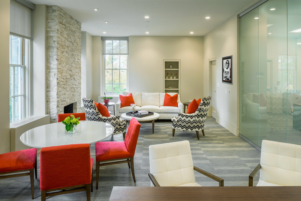 Worcester Polytechnic: President's Office Suite